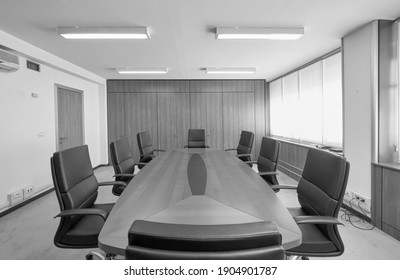 Italy, Rome; 4 October 2010, empty corporate meeting room - EDITORIAL