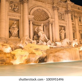 Italy Rome Fontaine Trevi