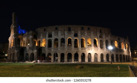 ITALY, ROME, MAY 2018 - COLOSEUM BY NIGHT