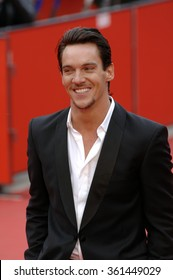 ITALY, ROME - OCTOBER 20, 2007 - Actor Jonathan Rhys Meyers attends the red carpet at the Rome International Film Festival 2007.