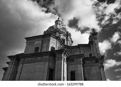 Italy, Rome, Roman church