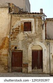 Italy, Sicily: Ancient house in Sambuca.