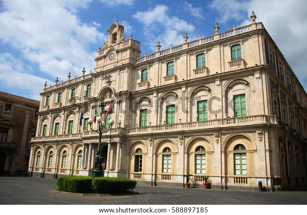 Italy. Sicily: Catania university (the oldest of Sicily - 1434)