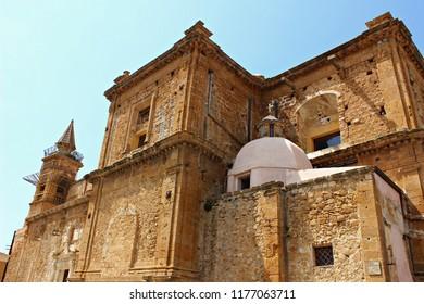 Italy, Sicily: Church of Sambuca di Sicilia.