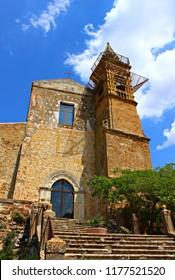 Italy, Sicily: The church of Sambuca di Sicilia.