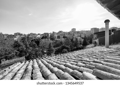 Italy, Sicily, Ragusa, view of the town