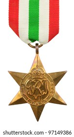 The Italy Star Second World War Medal