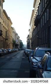 Italy street townscape