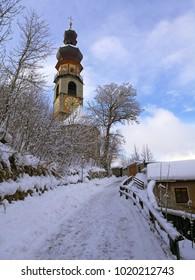 Italy, Trentino Alto Adige, Bolzano, Brunico, the church of Santa Caterina