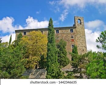 Italy, Tuscany, Cortona Girifalco fortress
