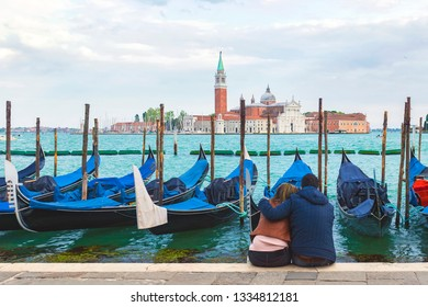 Italy Venice. San Marco waterfront in Venice