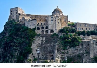 Italy,Ischia, Ischia Ponte, the Aragonese Castle