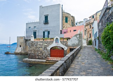 Italy,Ischia, Ischia Ponte,the Malcovati house