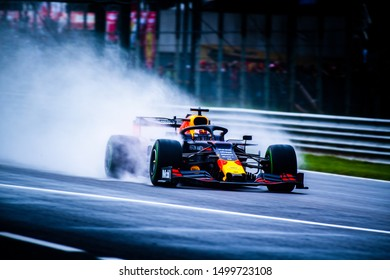 Italy/Monza - 06/09/2019 - #33 Max VERSTAPPEN (NDL, Red Bull Racing, RB15) during FP1 ahead of qualifying for the Italian Grand Prix
