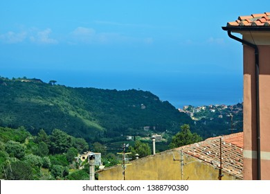 Italy-outlook from town Rio Nell´elba on the island of Elba