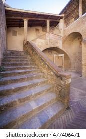 Italy,Tuscany,Siena,San Gimignano village