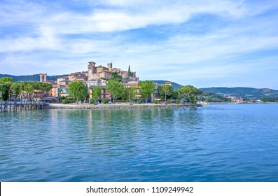 Italy,Umbria,Trasimeno Lake,Passignano Sul Trasimeno