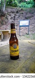 Itamatamirim Park, Pernambuco, Brazil. March 2019 - Beer in florest on interior of pernambuco, Brazil.