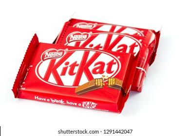 Itancourt-France-le 01/19/2019-KitKat chocolate bar