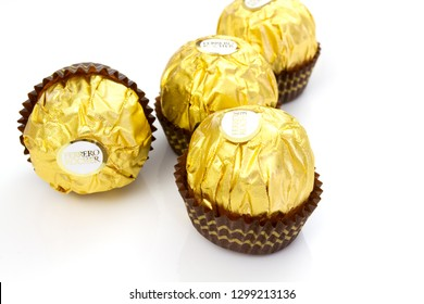 Itancourt-France-le 01/25/2019-Ferrero rocher chocolate