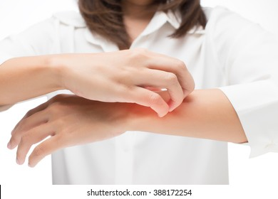 Itchy hand