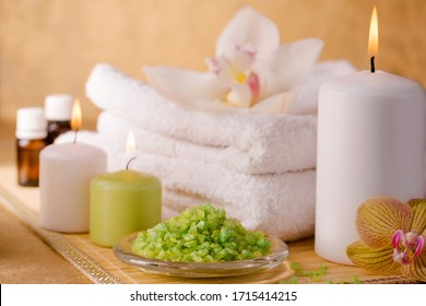 Items for energetic cleaning feet in a stream of reiki