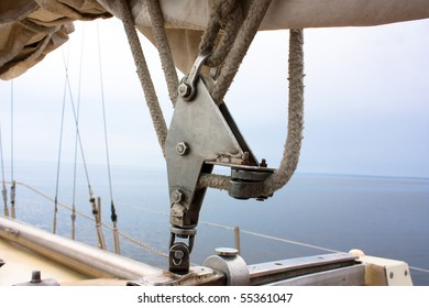 items of equipment for marine yacht