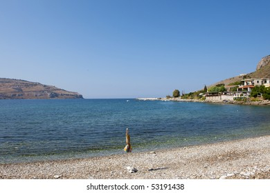 Ithylo bay at the Mani peninsula in Greece