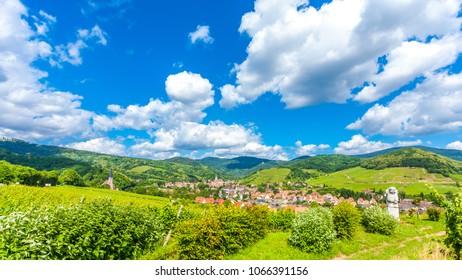 Itterswiller  medieval village in Alsace France