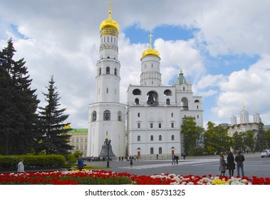 Ivan the Great Bell Tower. Church Kreml.Moskva