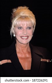 Ivana Trump at premiere of THE CAT'S MEOW, NY 4/2/2002
