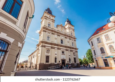 Ivano-Frankivsk, Ukraine - May 21, 2017: Ivano-Frankivsk ,Cathedral of the Resurrection of Christ