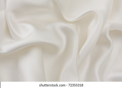 Ivory silk abstract background