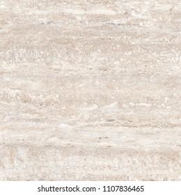 Ivory Travertine Marble Texture. Beige stone background of flooring ceramic tile.