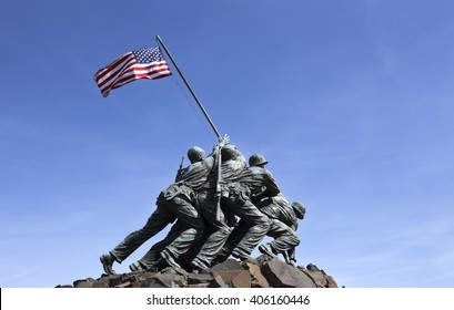 Iwo Jima memorial in Washington DC 2016
