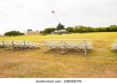 The Iwo Jima monument at Harlingen, Texas