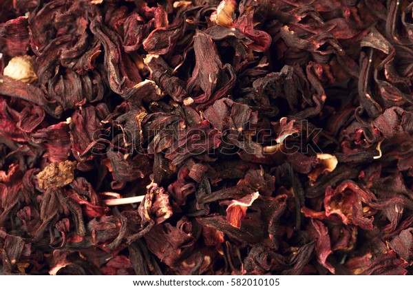 ixture herbal floral fruit tea with petals, dry berries and fruits. Texsture