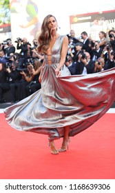 Izabel Goulart walks the red carpet ahead of the opening ceremony during the 75th Venice Film Festival at Sala Grande on August 29, 2018 in Venice, Italy.