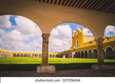 Izamal yellow town, Mexico