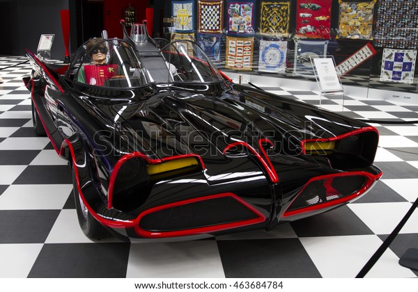 Izmir Turkey July 2016 1966 Batmobile Stock Photo Edit Now