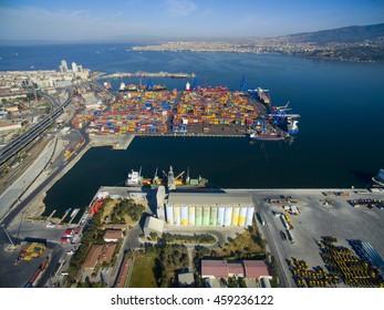 Izmir Turkey Transportation Dock