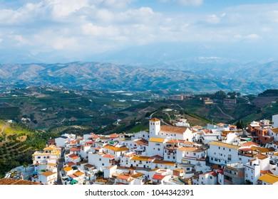 Iznate, Axarquia Costa del Sol, Malaga, Andalusia, Spain, Iberian Peninsula