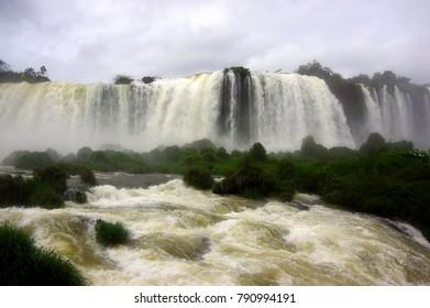 Izuazu Falls. Brazil side.