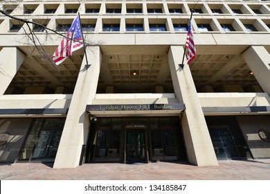 J. Edgar Hoover FBI Building on Pennsylvania Avenue, Washington DC, United States