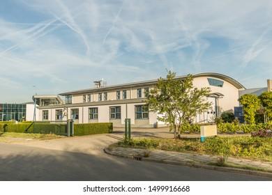 J. Keplerweg 20, Alphen aan den Rijn, South Holland, Netherlands, August 23, 2019: Building of DKPS Regeltechniek BV