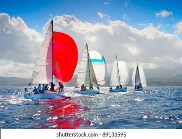 J24 Sailing Regatta in Greece