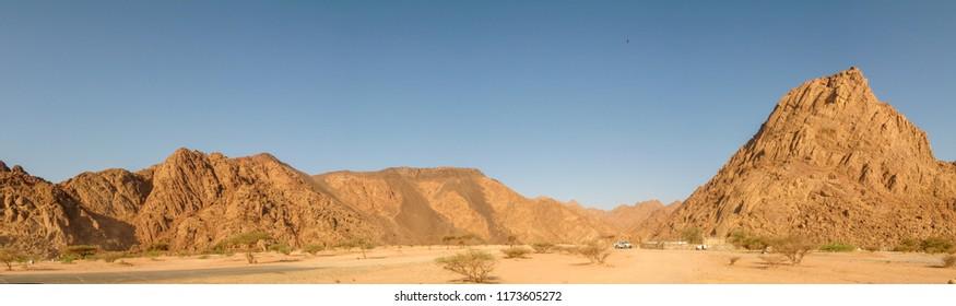 Jabal Magnet or Jabal Baido in Wadi al-Jinn, (Madinah magnetic hill) Madinah (Medina) Saudi Arabia