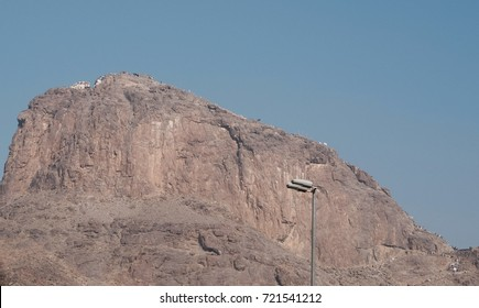 Jabal Thawr or Thur a historical place in Islamic world where Prophet Muhammad and his companion Abu Bakr took refuge from the Quraish inside a cave.