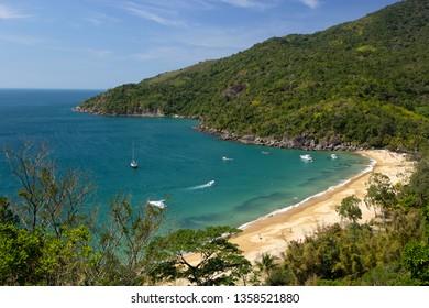 Jabaquara beach at Ilhabela island, Brazil