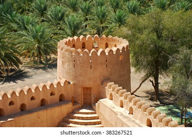 Jabreen Castle, Sultanate of Oman, Arabian Peninsula, Asia